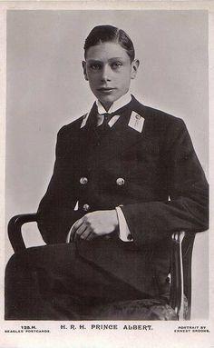 Prinz Albert von York, later King George VI. of Britain