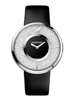 Swarovski Crystalline Black Watch