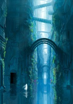 Water Spirit in Fantasy World | This imaginary world is a mere perfection...only if it didn't look so abandoned...