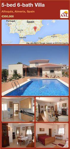 5-bed 6-bath Villa in Alfoquia, Almeria, Spain ►€350,000 #PropertyForSaleInSpain