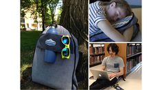 Our backpack quickly & easily transforms from bag, to pillow, to pad &…