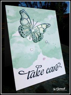 djkardkreations: Glittery Butterfly Glittery Home