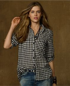 a8a64663504 Insomniac Sale Picks  Gingham Button-front Shirts - Already Pretty