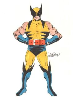 johnbyrnedraws:  Wolverine by John Byrne. 1979.