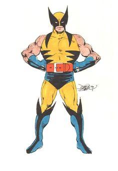 johnbyrnedraws: Wolverine by John Byrne. 1979.