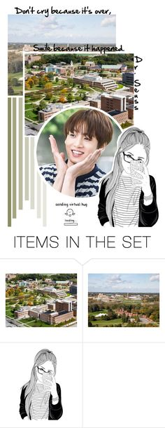 """""Don't cry because it's over; smile because it happened."" // RTD // Tag"" by lola-twfanmily ❤ liked on Polyvore featuring art"