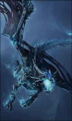 Dark blue ice dragon Live wallpapers Funny lock screen wallpaper Locked wallpaper