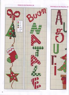 Gallery.ru / Фото #66 - 2013 10 (9) - Vintas Xmas Cross Stitch, Cross Stitch Bookmarks, Cross Stitch Borders, Cross Stitch Charts, Cross Stitch Designs, Cross Stitching, Cross Stitch Embroidery, Cross Stitch Patterns, Christmas Charts