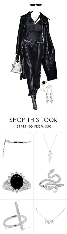 """""""Untitled #424"""" by bfvshionkilla ❤ liked on Polyvore featuring Tom Ford, Christian Dior, Nephora, Fleur, Ileana Makri and Versace"""
