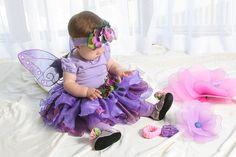 Infant Violet Fairy Costume by Fairy Nana, via Flickr