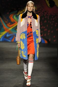 Prada RTW Spring 2014 Photo by Giovanni Giannoni