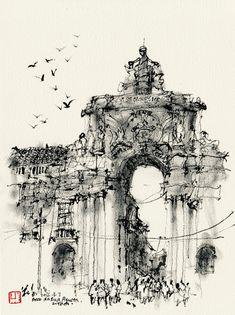 Trip to Lisbon | Urban Sketchers