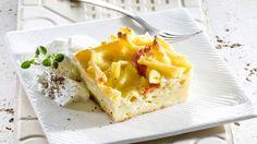 פשטידת פסטה עם מיקס גבינות Pasta Pie, Macaroni And Cheese, Waffles, Bread, Breakfast, Ethnic Recipes, Food, Morning Coffee, Mac And Cheese