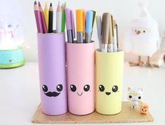 DIY 20 kawaii and adorable DIY ideas! Diy Crafts For Girls, Diy Crafts Hacks, Diy Home Crafts, Diy Arts And Crafts, Cute Crafts, Diy For Kids, Crafts For Kids, Easy Crafts, Mason Jar Crafts