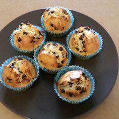 Muffins au pépite de chocolat noir