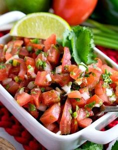 Pico de Gallo | Shared by Fireman's Finds