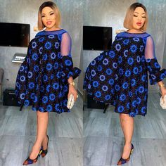 Beautiful New Ankara Styles - Naija's Daily Short African Dresses, Short Gowns, Latest African Fashion Dresses, African Print Dresses, African Print Fashion, Latest Fashion, Africa Dress, African Attire, Traditional Dresses