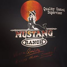 Vintage mustang ranch t shirt in our SF shop