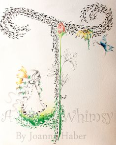 Custom Monogram Personalized 11 X 14 Fine Art by ABitofWhimsyArt,