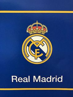 Real Madrid La Liga Plush Throw Blanket King Size 84x94