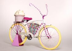 The Candy Bicycle is Perfect for a Ride in Candy Land
