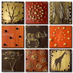african decor living room | Decorate Internal Walls With African Wall Art | Home Constructions