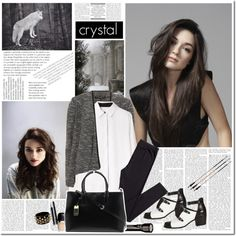 Crystal Reed | Teen Wolf by foreeva on Polyvore featuring Alexander Wang, Dorothy Perkins, H&M, Topshop, Amrita Singh, Chanel and Lauren Ralph Lauren