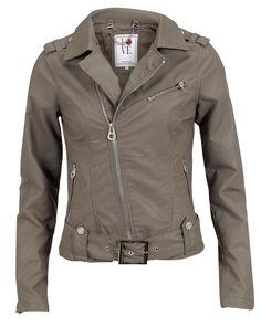 Jacket Immanuel by Silvian Heach! #jacket #leather #fashion @strandbulgaria