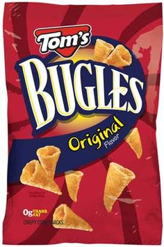 Bugles (original only) - IMPORTANT: Please read ingredient labels. Manufacturers continually change packaging and processing.