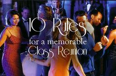 Rules for a class reunion