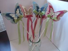 fairy wands with die cuts