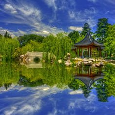 The  gorgeous Chinese Garden at the Huntington Library and Botanical Gardens in San Marino, CA.