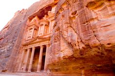 The Rose City of Petra. Wow.