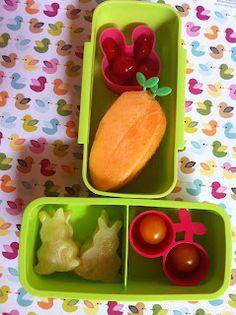 El Lunch de mi Enano: Que comen los conejos? Zanahorias!