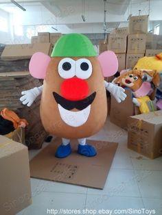 Mr. Potato Head Toy Story Mascot Costume Outfit EPE UK | eBay