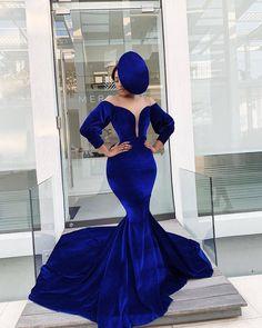 Blue velvet dress African party dress Ankara dresses for womenNigeria clothing clothing for women African fabric African print dress Royal Blue Prom Dresses, Prom Girl Dresses, Mermaid Evening Dresses, Bridesmaid Dresses, Short Dresses, Dress Prom, Formal Dresses, African Party Dresses, African Dresses For Women