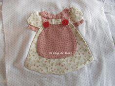El blog de Dori: Más vestiditos de muñecas