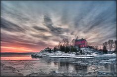 McCarty's Cove Lighthouse. Marquette, Michigan