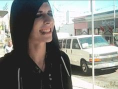 OH MY GOD THAT SMILE!!! I'm sorry but it's just soo cute and adorable!~Ricky Horror~ Motionless In white