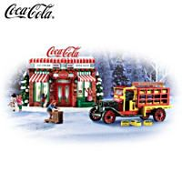 Bradford Exchange Coca-Cola Refreshing Memories Limited To 2500 Coca Cola Ad, Always Coca Cola, World Of Coca Cola, Pepsi, Coca Cola Christmas, Christmas Truck, Country Christmas, Christmas Decor, Bar Games
