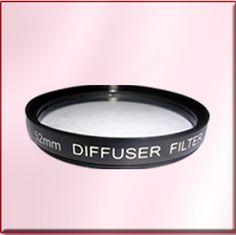 camera filter diffuser