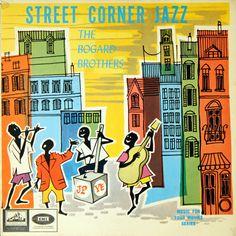 Street Corner Jazz - The Bogard Brothers - 1961 - South Africa