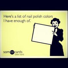 45 Funniest Nail MEMEs to lift your mood! Nail Memes, Polish Memes, Nail Quotes, Manicure Quotes, New Nail Colors, Manicure Colors, Nail Polish Colors, Polish Nails, Chipped Nail Polish