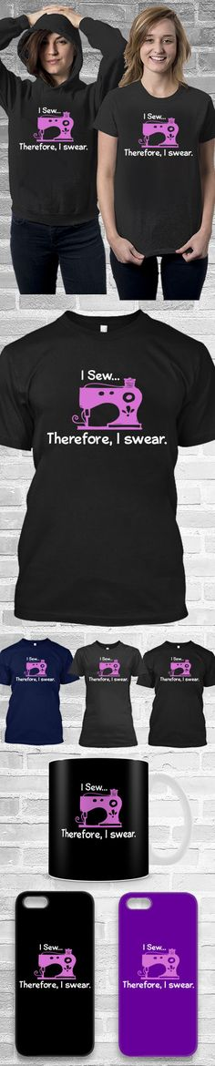 I Sew Shirts! Click The Image To Buy It Now or Tag Someone You Want To Buy This For.  #sew