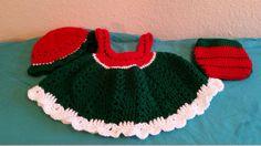 Crochet Watermelon Baby Set (Newborn-3 months) by knitcreations86 on Etsy
