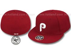 Philadelphia Phillies 1979 Cooperstown Fitted Baseball Cap by 47 BRAND x MLB