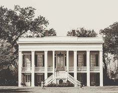 Southern plantation home.  THAT PORCH OH MY GOODNESS. My future home WILL have a wrap around porch.