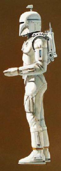 ☆ Bounty Hunter -Detail- By Ralph McQuarrie ☆ Star Wars Concept Art, Star Wars Art, Star Trek, Ralph Mcquarrie, Robot Design, George Lucas, Death Star, Bounty Hunter, Boba Fett
