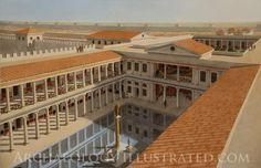 Caesarea, Israel, Palace of Herod the Great, 1st century BC