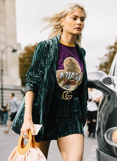 The Shirt Trend That Will Definitely Be Around in 2017 via @WhoWhatWear